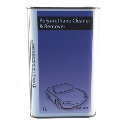 Polyurethane Cleaner & Remover 1Litre Windscreen Fitting Dinitrol Bond Sika Glue