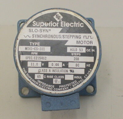 Slo Syn Stepper Driving Motor Ss50 1204 From The