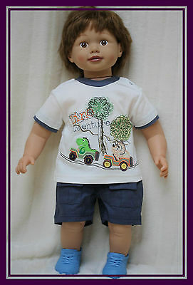 Baby Boy Toddler  2 Piece Set T-Shirt Top Shorts Summer Outfit Set 3-6 6-9 9-12