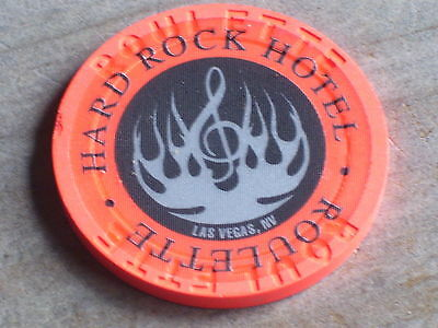 2ND ISSUE ROULETTE CHIP (OO ) FROM THE HARD ROCK CASINO LV NV