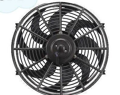 14 INCH 12v LOW PROFILE HIGH PERFORMANCE THERMO FAN 12volt