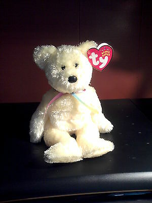 Hello,  My Name is Sherbert, I am Retired Beanie Baby Collectable - Bear