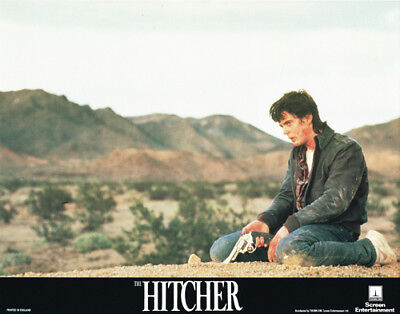 The Hitcher Original 11X14 Lobby Card  C. Thomas Howell
