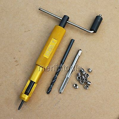 M4 x 0.7 Helicoil Thread Repair Kit Drill and Tap Insertion Tool
