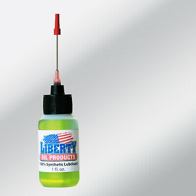 100% Synthetic Oil for lubricating all watches, Liberty Oil made in U.S.A.