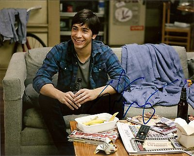 Justin Long Genuine Authentic Signed 10X8 Photo Aftal & Uacc A