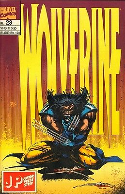 Wolverine Junior Press Strip 23 - (1995)