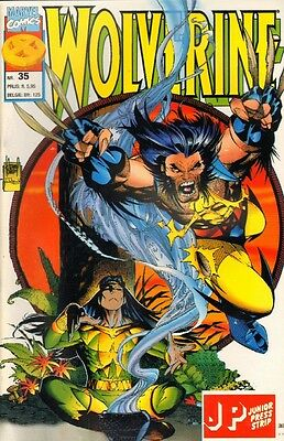 Wolverine Junior Press Strip 35 - (1996)