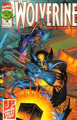 Wolverine Junior Press Strip 36 - (1997)