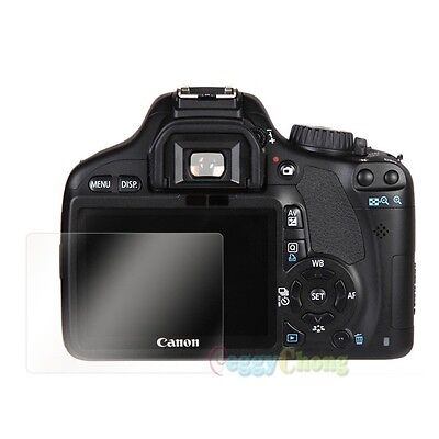 New 3 x Clear LCD Screen Protector Guard For Canon EOS 550D 60D 600D 5D Mark III