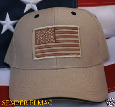 TACTICAL OD BROWN US FLAG US ARMY AIR FORCE COAST GUARD