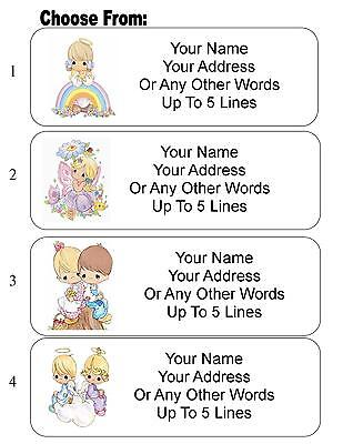 30 Precious Moments Personalized Address Labels