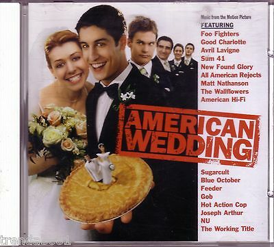 American Wedding Original Soundtrack CD All American Rejects Good Charlotte Rare
