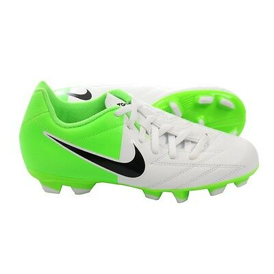 Nike Total 90 T90 Shoot IV FG EURO 2012 Soccer Shoes New White - Green 8e2495c47888