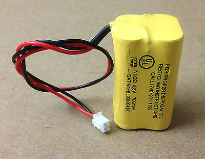 Emergency Light Exit Sign 4.8V 700mAh NiCad Battery