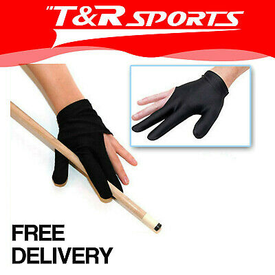 New! One Pair Of Pool Snooker Billiards Glove Free Postage!!!