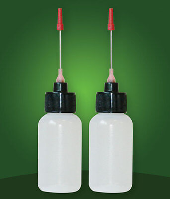 2-1 OZ bottles with stainless needle tip for Antique Slot Machine Oil