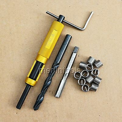 Helicoil Thread Repair Kit M10 x 1.25 Drill and Tap Insertion tool Fine thread