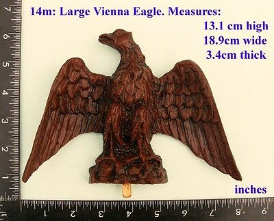 "TITLE:  14m ""Large Eagle"" clock case / furniture DIY"