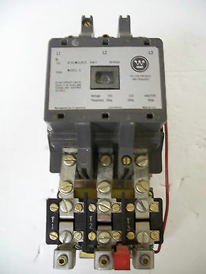 Westinghouse Motor Control Starter Contactor A200m3cac