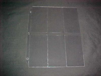 20 Plastic Pages for OA flaps or CSPs