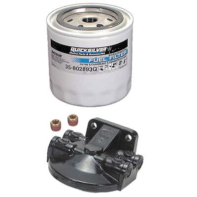 Oil and Fuel Filter Water Separator Set For Mercury MerCruiser 4.3 5.0 5.7 7.4