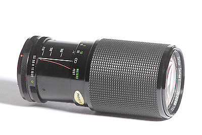 Vivitar Series 1 70-210mm f/3.5 SLR Camera Lens for Canon FD SN 37400502