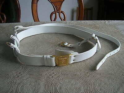 07's series China Armed Police Force (CAPF) Guard of Honor Cattle Leather Belt