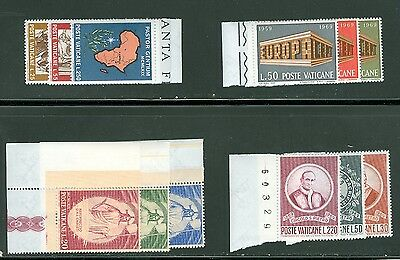 Vatican City 1969 Compete MNH Year Set