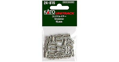 New Kato Unitrack 24-815 Unijoiners 20 Pcs