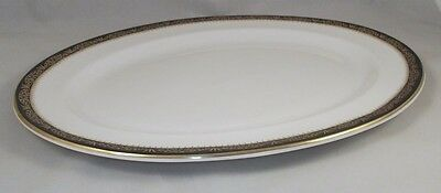 "Aynsley BALMORAL Oval Platter 13.5"" Fine English Bone China GREAT CONDITION"