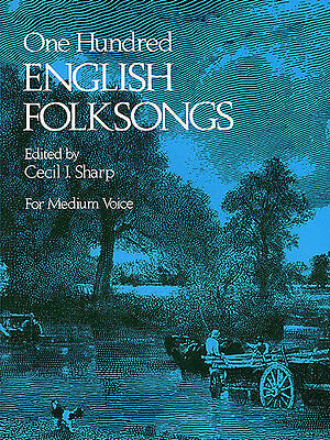 English Folksongs Learn to Sing Play Scarborough Fair Voice Piano Music Book