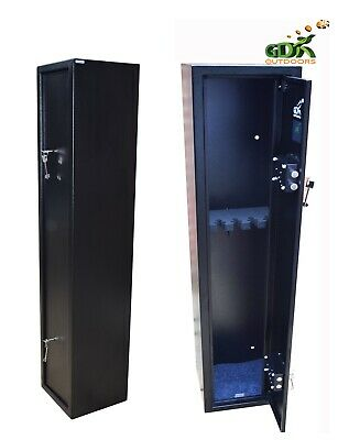 GDK EXTRA DEEP, 6 GUN CABINET, 6-8 SHOTGUN SAFE,X-LARGE 3-6 SCOPED RIFLE 1300mm