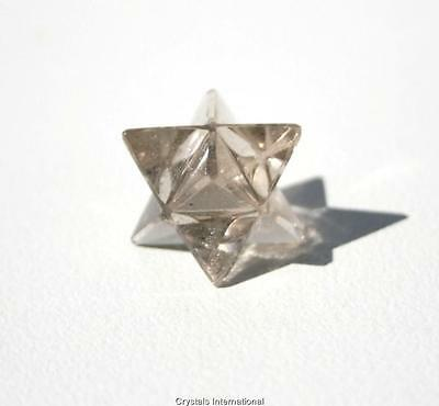 Merkaba Star - Smokey Quartz