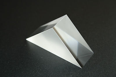 40mm x 40mm x 19.5mm Right Angle Prism - Uncoated (RP-1 40-40-19.5)