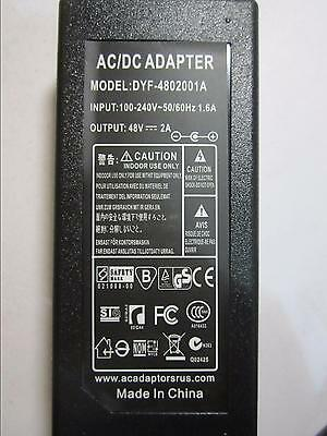 48V AC-DC Switching Adapter Desktop Power Supply for E-MU 1616m Sound Card PCI