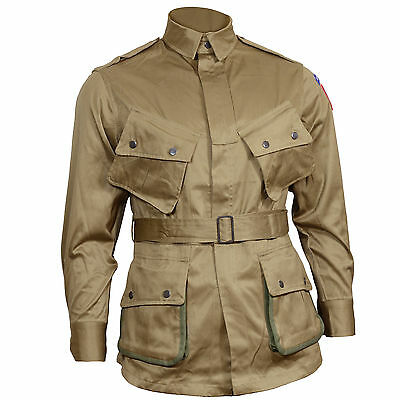 US Airborne M1942 Jacket - American Paratrooper Repro Army D-Day All Sizes New