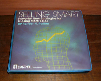Selling Smart Powerful New Strategies by Forrest H. Patton - 6 Audio Cassettes