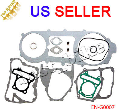 Long Case 150 cc GY6 SCOOTER Moped ATV Go Kart engine gasket set Chinese TaoTao