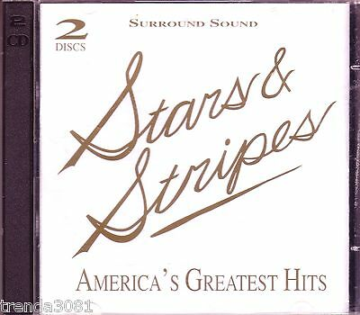 Stars Stripes Americas Greatest Hits Gold 2CD Box Great Classical Hits Rare OOP