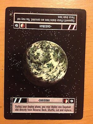 Star Wars CCG Hoth BB Limited AT-AT Cannon SWCCG NrMint-Mint
