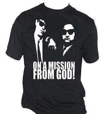 fm10 t-shirt uomo BLUES BROTHERS musica film MUSICA