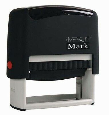 New Custom For Deposit Only BEST 4 LINE Self-Inking Rubber Stamp - 9013