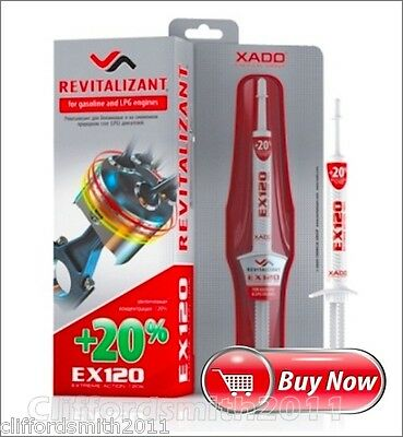 XADO EX120 Gel Revitalizant for gasoline and LPG engines