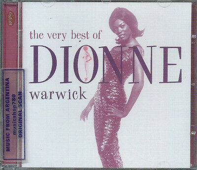Dionne Warwick Very Best Sealed Cd New Greatest Hits