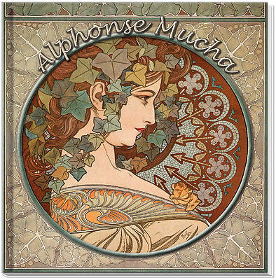 ALPHONSE MUCHA A-Z STOCK IMAGE DVD-180 Royalty Free Reproductions