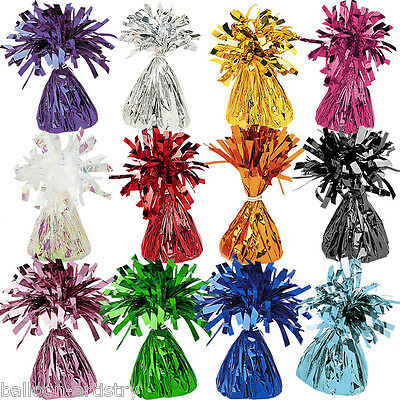 12 x Balloon Weights 12 Colours One Listing Wedding Birthday Engagement Party