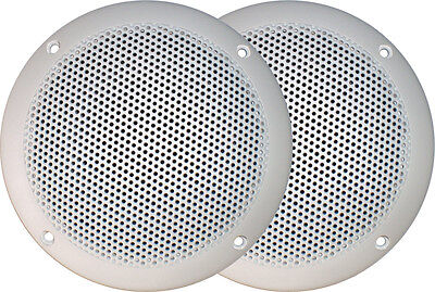 AXIS MA500S Marine Speakers 60W Ultra Slim Flush mount 130mm