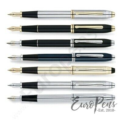 Cross Townsend Fountain Pen - ALL FINISHES