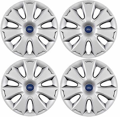 "New Genuine Ford Kuga / Mondeo / Focus Set Of 4 16"" Wheel Trims Hub Caps Covers"